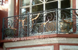 Pasamanos de hierro metálico interior o exterior de uso