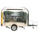 Edelstahl-Nahrungsmittelkiosk-mobile Nahrungsmittelkarren für Verkauf Jy-B54