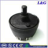 Da comutação de ligar/desligar de 2 posições dos dispositivos elétricos interruptor rotativo