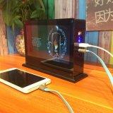 côté externe de l'alimentation par batterie 20000mAh pour l'iPhone et périphériques USB mobiles avec l'écran d'écran LCD
