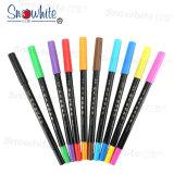 Bureau papeterie scolaire stylo brosse PM137c avec 10 Color