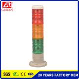 3LED las capas de Torre de Luz de advertencia de la luz de advertencia con zumbador Piloto Indicador LED, LUZ DE EMERGENCIA