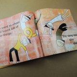 Livre d'invité fait sur commande de mariage d'impression de livre de photo d'enfant