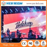 Solución de la pantalla de la etapa LED de la estación de televisión