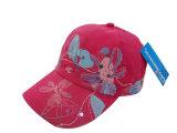 花ファブリックBb112が付いている6つのパネルの野球帽