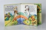 Impresión del libro de cuadro de la impresión del libro de Hardcover de los niños