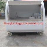 上海の高品質のホットドッグのカートの食糧トラックの譲歩のトレーラー