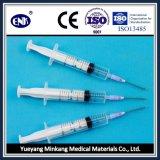Медицинские устранимые шприцы, с иглой (10ml), выскальзование Luer, при одобренное Ce&ISO