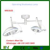 Reflexión total de la cirugía médica que funciona la lámpara Shadowless Mslsl02