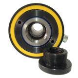 Ressort de rappel du piston creux distinct huile hydraulique du vérin de vérin hydraulique