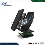 Le plus récent chargeur sans fil rapide petit ventilateur intégré, fonction Multi-Protections, conforme pour FAC, CE, RoHS standard