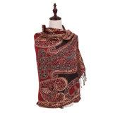100% Polyester Echarpe chaude longue Châle d'hiver Mode Pashmina