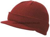 Chapéu de malha de inverno por atacado / boné de malha