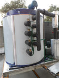 raffreddamento ad acqua di uso della macchina di ghiaccio del fiocco 15ton/Day corrispondendo con la torre di raffreddamento