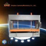 Machine froide hydraulique de travail du bois de presse avec des rouleaux