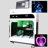 grabadora láser 3D-3D grabadora láser de cristal