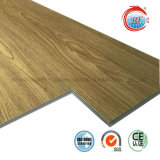 Pavimentazione resistente all'uso di legno di Lvt di scatto del grano 0.3mm~0.7mm WPC del Ce