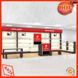 Support du caisson de l'étagère d'affichage pour la vente au détail de chaussures