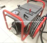 Machine hydraulique de soudure par fusion de bout de Sud250h pour la pipe de HDPE