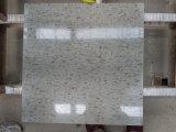Caliente vendiendo un granito blanco del azulejo de la decoración de la pared del grado