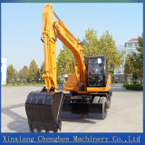 Htl120 de alta calidad de la excavadora de ruedas para la venta
