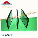 Alta qualidade e baixo isolamento de vidro temperado de fachadas