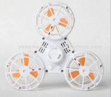 Décharge de pression rechargeables jouets Filage Flying Fidget Spinner