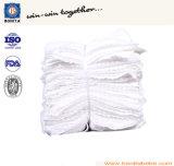 Essuie-main 100% comprimé de coton de produits de promotion de marque