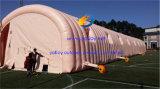 Barraca móvel do túnel de Infatable da estação de trabalho do ar para a exposição