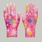 13 Индикатор цветочный полиэстер / Нейлон с цветочным рисунком Вязки с белым покрытием PU
