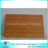 Placa de estaca de bambu de bambu carbonizada da tampa de caixa da placa de bambu da cor