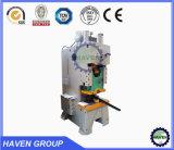 Máquina de perfuração aberta da imprensa de potência da série J21 para trás