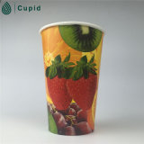 12oz bebida caliente taza de pared simple vaso de papel desechables