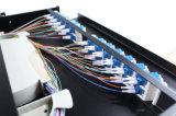 30 quadro d'interconnessione di fibra scorrevole monomodale duplex Port di LC di allegato 24 del comitato di angolo di grado