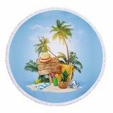 바닷가 풍광 디자인 순서를 위한 둥근 바닷가 매트 지면 매트