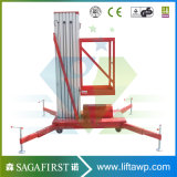 levage hydraulique d'alliage d'aluminium de 4m