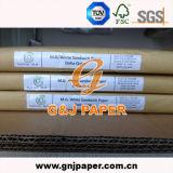 Hochwertiges 100% hölzerne Massen-weißes Mg eingeschobenes Verpackungs-Papier