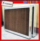 温室の蒸気化冷却のパッド