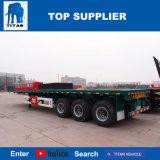 Veicolo del titano - rimorchi a base piatta del camion dei fornitori del rimorchio dell'automobile dell'Tri-Asse