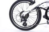 Bici piegante della bicicletta motorizzata bicicletta elettrica E della spiaggia della città