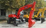 中国Bd80は掘削機のバックホウを動かす