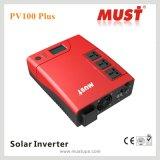 Inversor solar de alta freqüência da obrigação PV1100 com o controlador solar de 30A PWM
