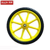 Pneumatico della bicicletta di giro della gomma piuma dell'unità di elaborazione da 16 pollici con l'orlo di alluminio giallo