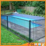 Auslese-Aluminiumzaun-Schwarz-flache Oberseite-Pool-Zaun