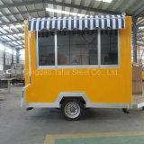 Caja de alimentos baratos Elctric enormes camiones de remolque Móvil de Alimentos