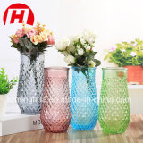 Vase à fleur créateur de Tableau de décoration de verre cristal