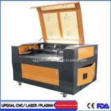 Tagliatrice del laser del CO2 di marchio del ricamo del tessuto di precisione in lotti con la macchina fotografica del CCD