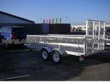 De op zwaar werk berekende Levering van de Fabriek galvaniseerde 3.7X1.55m Aanhangwagen ATV (CT0090D)
