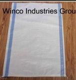 Мешок сплетенный PP для риса/муки/еды/пшеницы, полипропилена сплетенный мешок