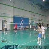 Bevloering van de Plank van pvc van de Sporten van het Hof van het badminton de Vinyl voor Basketbal